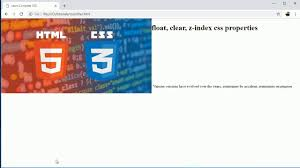 Complete CSS Tutorial: Overflow, float, clear and z-index CSS ...