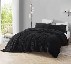 coma inducer duvet cover the original plush black