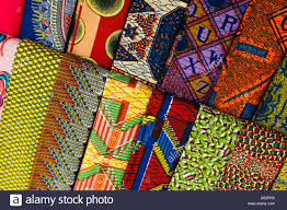 Ghana Fabric Designs African Print Fabric Stock Photos African Print Fabric