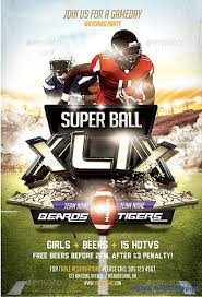 football flyer templates 50 best super bowl flyer print templates 2016 frip in