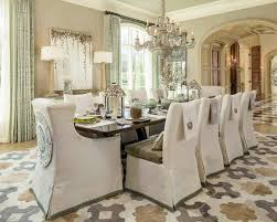 image of slipcovers for dining room chairs diy