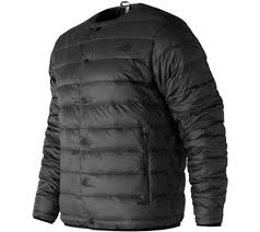 new balance down jacket. new balance mj73549 247 luxe snap down jacket r