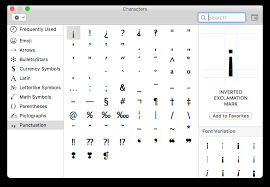 How To Find The Command Symbol In Mac Os X
