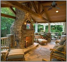 covered patio designs with fireplace. Outdoor Covered Patio With Fireplace Designs O