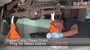 How to change Differential Fluid - 2005 Toyota Tacoma - YouTube