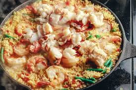 Easy Seafood Paella Recipe (Full ...