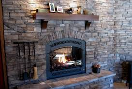 fireplace stone veneer pavers for decor 15