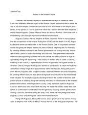 aclc history of ancient rome suny albany page  2 pages rulers of the r republic essay