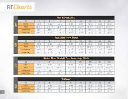 Bigbill Sizing Charts