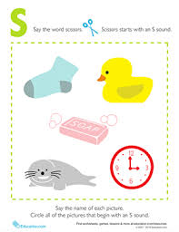 Phonics teaches a student to read by using the sounds of the letters in a word. Letter Sounds S Worksheet Education Com