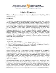 defining bilingualism pdf available