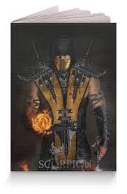 """Обложка для паспорта """"Mortal Kombat (Scorpion)"""" #2494107 от ..."""