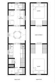 floor plan tiny house floor plans plan on wheels for small