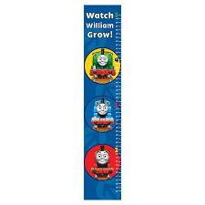 Thomas The Train Growth Chart Thomas Friends Easy Move Canvas Growth Chart