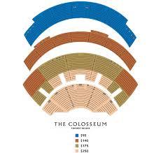 Cosmopolitan Las Vegas Seating Chart Caesars Palace Seating Chart Colosseum Seating