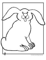 These free printable bunny color pages are adorable and kids will enjoy coloring them this spring. Bunny Coloring Pages Woo Jr Kids Activities