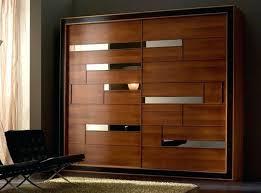 solid wood sliding doors design door wardrobe