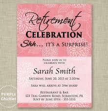 Retirement Celebration Invitation Template Party Invitation Templates Free Premium Templates