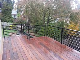 Deck Railing Ideas Black Exclusive Deck Railing Ideas Horizontal
