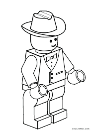Lego Coloring Page Lego City Coloring Pages Pdf Y7967 Best
