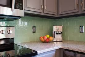 Glass Tiles For Kitchens Amazing Subway Glass Tiles For Kitchen Design Gallery 4657