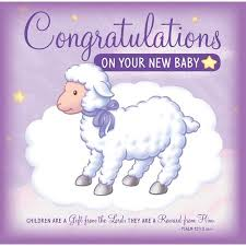 Congratulations On Your New Baby Greeting Card Walmart Com
