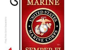 marine corps garden flag garden flag by personalized marine corps garden flag
