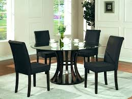 round glass dining room table sets images of photo als modern round glass dining table dining