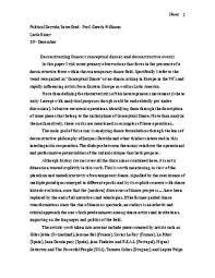 deconstructing dances conceptual dances and deconstructive events page 1