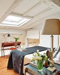 Attic Apartments With Bedroom Design Located In Spain