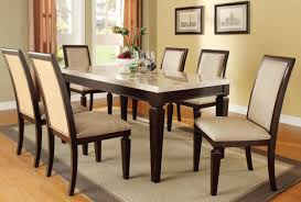 Marble Top Kitchen Table Set Stone Top Dining Table Set Britney Marble Top Dining Table Set