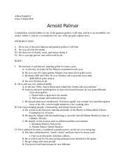 american sniper essay american sniper was a film created based  2 pages arnold palmer speech