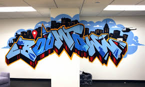 facebook office in usa. Facebook Graffiti Office In Usa