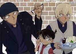 Conan/Akai/Amuro high... - Detective Conan - The Red Thread