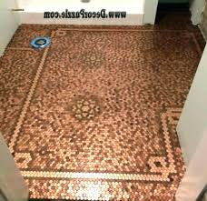 Penny kitchen floor Copper Penny Penny Kitchen Floor Penny Kitchen Floor Breathtaking Kitchen Floor With Pennies Penny Floor Tile For Bathroom Guardianromcom Penny Kitchen Floor Therankupco