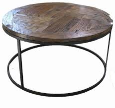 amazing round industrial coffee table with round industrial coffee table