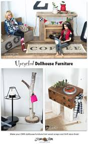 make your own barbie furniture. Make Free Dollhouse Furniture From Wood Scraps! By Funky Junk Interiors For Ebay. Your Own Barbie