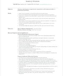 Resume For Administrative Position Impressive Resume Administrative Assistant Objective Admin Assistant Sample