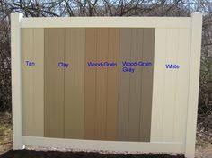 vinyl fence panels. Available Colors - A Vinyl Fence And Deck Wholesaler Vinyl Fence Panels