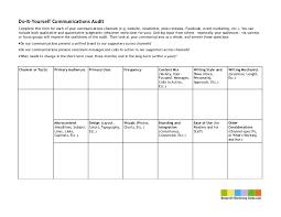 Chart Audit Form Template Diy Communications Audit Chart