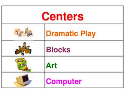 Learning Center Pocket Chart Learning Centers Pocket Chart Center Signs With Pictures