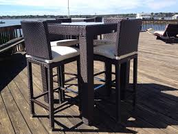 high top patio sets