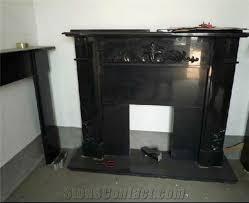 granite modern fireplace surround black granite fireplace surround