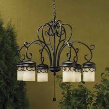 outdoor gazebo chandelier lighting classic