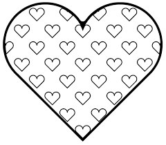 Love Heart Coloring Pagesll