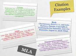 Citation Examples Text Images Music Video Glogster Edu