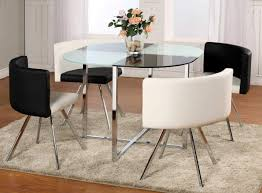 Round granite dining table