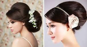 Свадебные прически пошаговое выполнение с фото и видео инструкциями Пучок из длинных волос