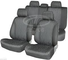 honda cr v ii 2001 2006 seat covers jacquard and leatherette 111 85