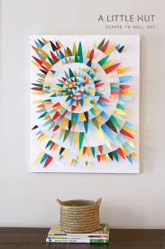 diy wall art with paper